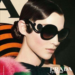 58df16b2157bf ... coupon prada black baroque swirl sunglasses de0e1 abdb3